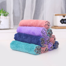 Household Super Absorbent Microfiber Cleaning Cloth Durable Tableware Towel Tools gadgets