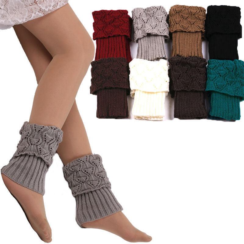 Tienda Online 1 par mujeres punto Calentadores para piernas tejer ...