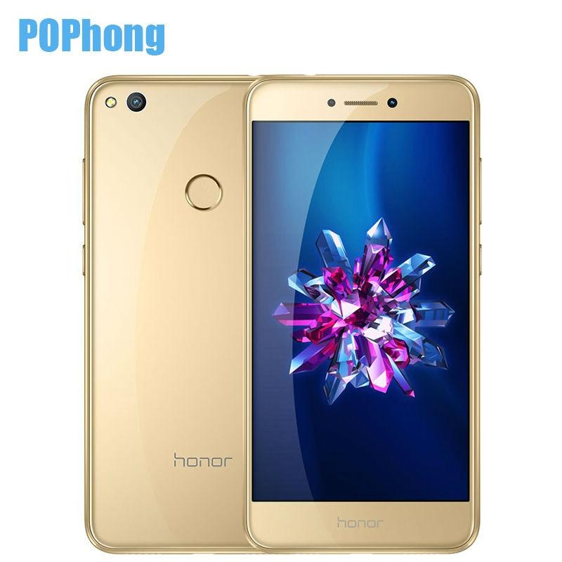 Цена за На складе оригинальный huawei honor 8 lite 5.2 дюймов 3 ГБ оперативной памяти 32 ГБ ROM Мобильного Телефона Кирин 655 Dual Sim карты 12.0MP Камера 3000 мАч