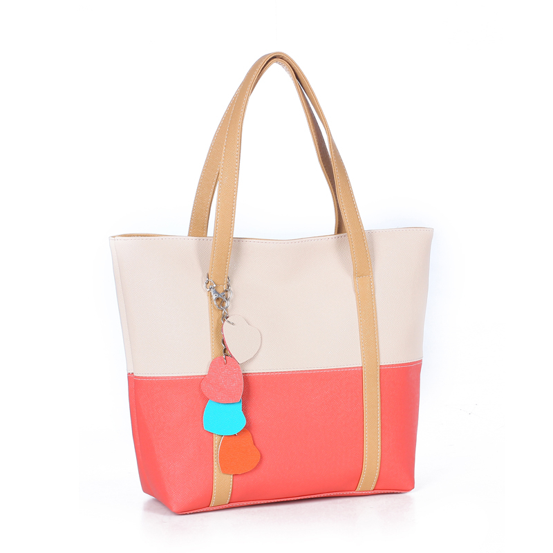 Hot Summer Fashion Women PU Leather Shoulder Bags Casual Tote Handbags Tassel T