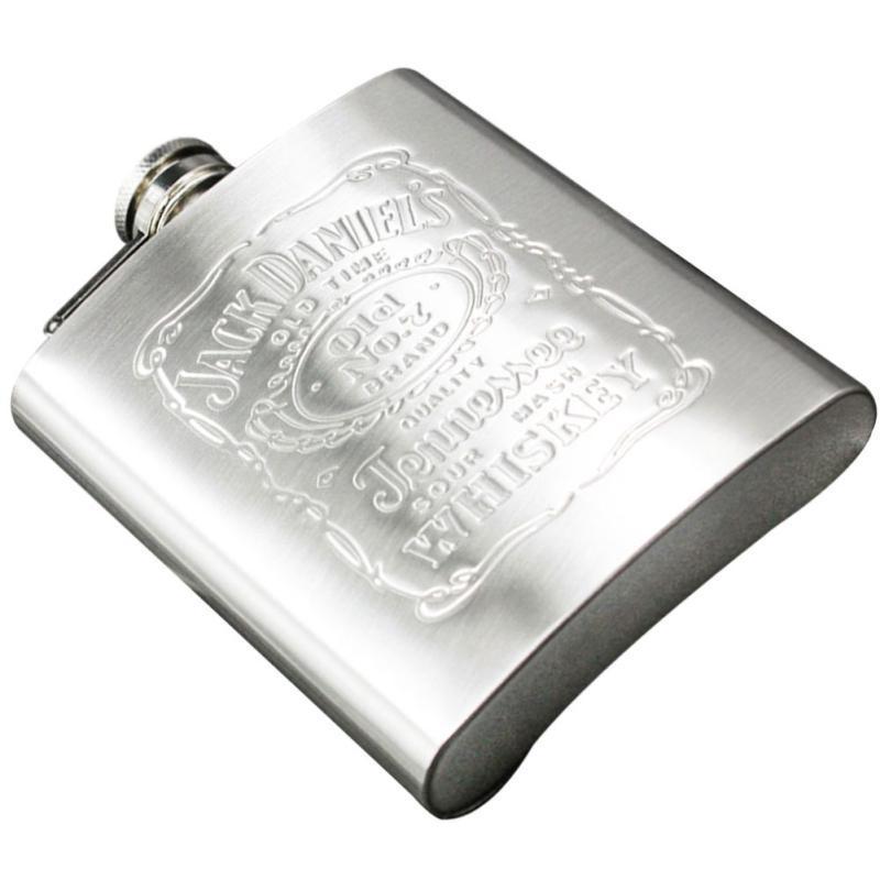 New 2-18 Oz Stainless Steel Pocket Hip Flask Alcohol Whiskey Liquor Screw Cap