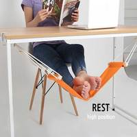 Under The Desk Small Foot Rest Hammock Hammock On Foot Pedal Relieve Tired Feet