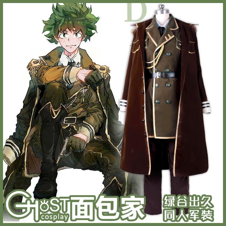 My Hero Academia Costume Midoriya Izuku Uniform Cosplay Costume Halloween Gorgeous Aduit Suit