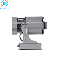 Outdoor Christmas Lighting Silver 80W Rotary Image LED Logo Projector IP65 10000lm Custom Gobo LED Lamp Projector Light Outdoor