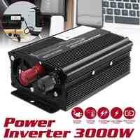 Autoleader Solar Inverter 12V 220V 3000W P eak auto Inverter Power Spannung Transformator Konverter Sinus Welle für auto lkw