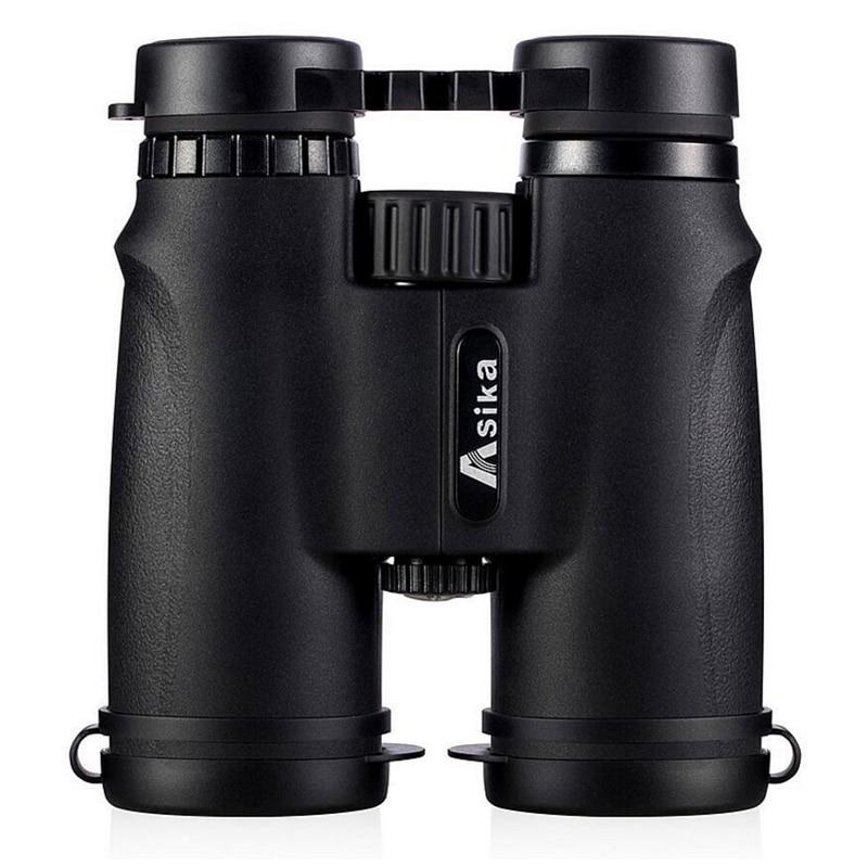 Asika 10x42 High Quality Binoculars HD Professional Military Telescope Lll Night Vision Binocular For Bird-watching Camping
