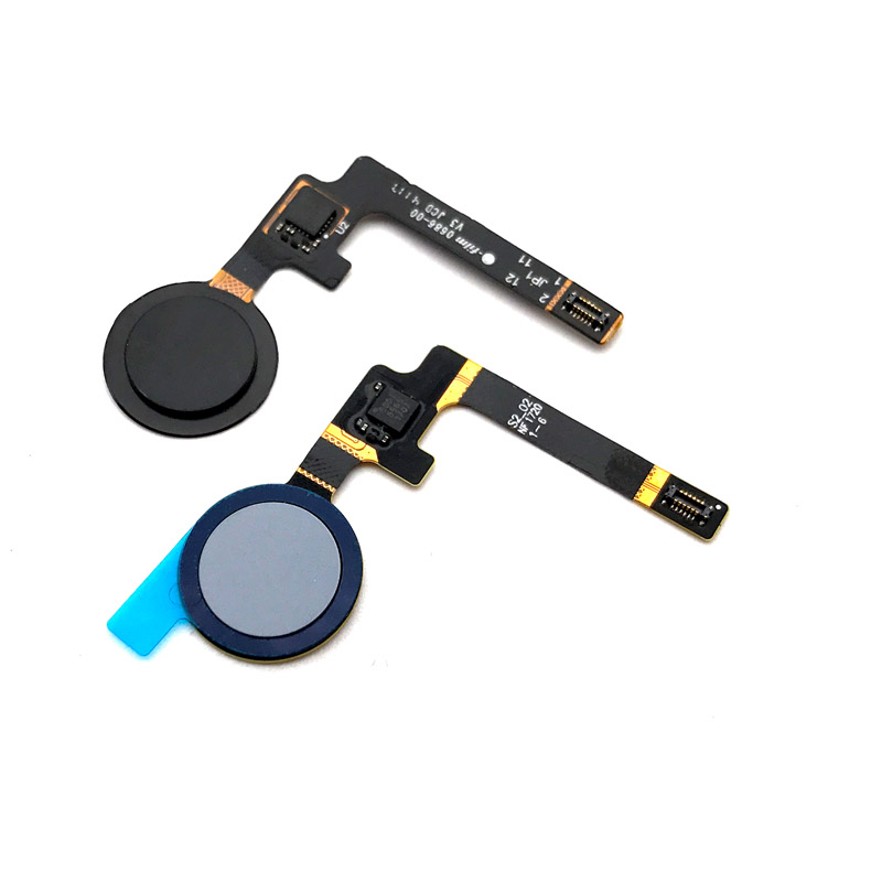 American Original New Sensor Flex Cable For Htc Google Pixel 2 Fingerprint Flex Cable Home Menu Button Flex Cable Repair Parts