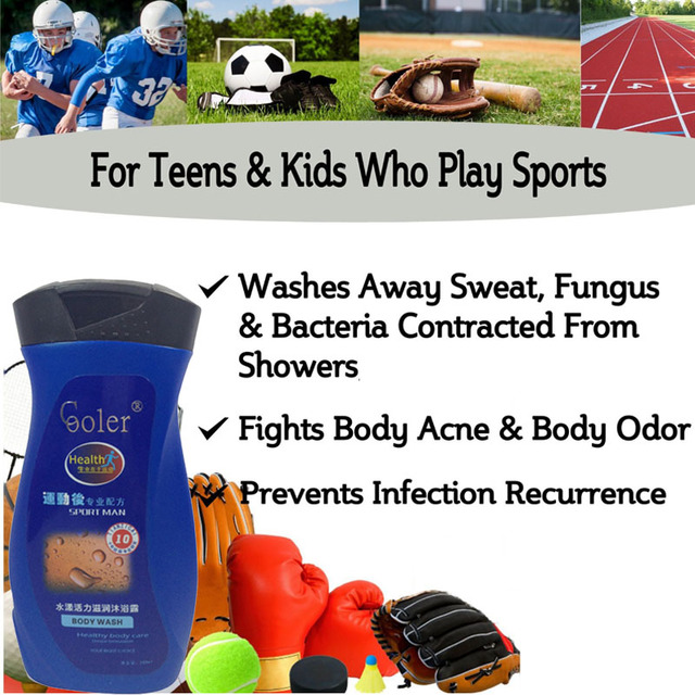 Oil-Control Moisturizing Skin Care Shower Gel   1