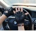 Мужские кожаные перчатки для верховой езды из натуральной кожи, мужские перчатки для вождения из овчины, кожаные перчатки для водителей