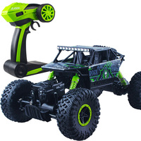 Climbing Rc Car 4WD 2.4GHz Rock Rally 4x4 Double Motors Bigfoot Car Remote Control Model Off Road Vehicle Toy 004