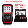 Autel Maxicheck Pro EPB/ABS/SRS/SAS/BMS/DPF Aplicação Especial Diagnóstico Leitor de Código de Ferramenta Scanner DHL Livre