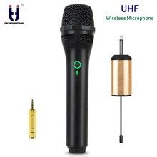 Ituf UHF Wireless Microphone System Handheld Mic UHF Speaker with Portable USB Receiver For KTV DJ Speech Amplifier Recording wireless microphone system mp3310 for dj speaker in professional audio