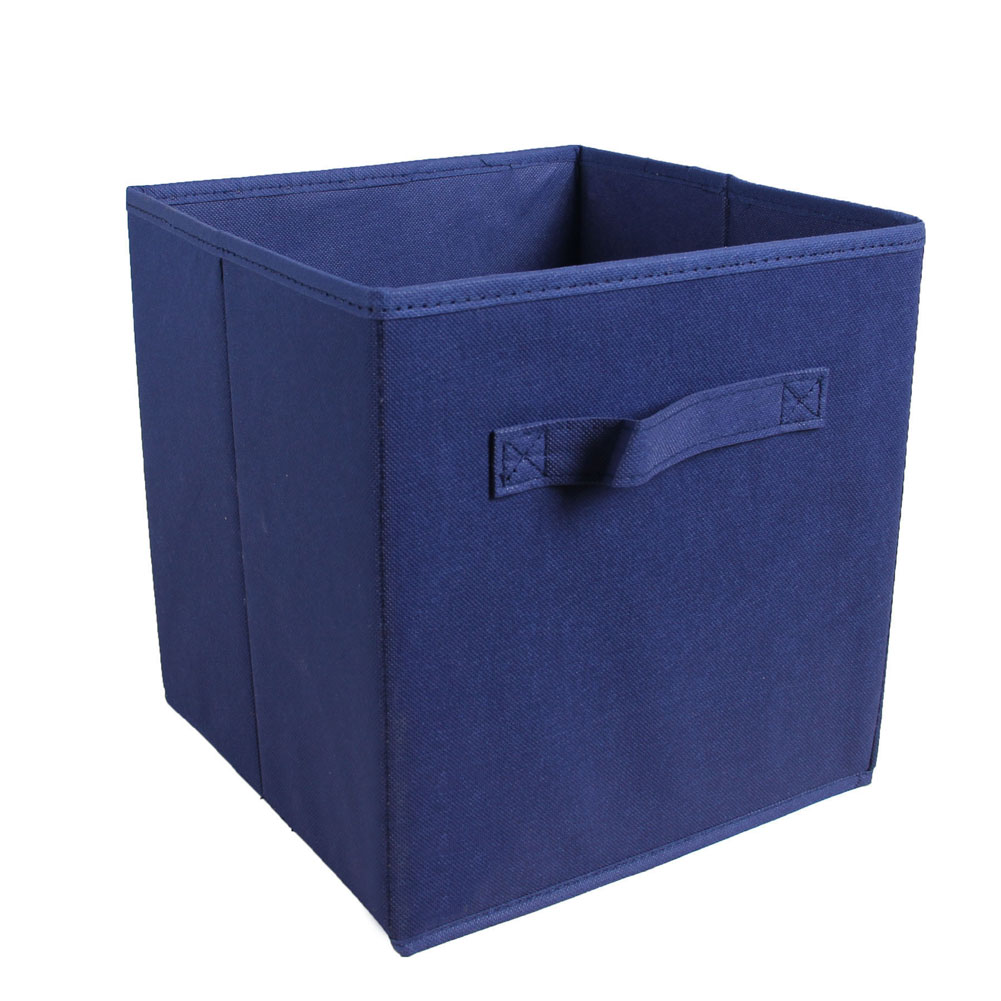2pcs Non-Woven Fabric Organizer Foldable Storage Bins for Cloth Toy Container Basket Home Decor Closet Hot Sale