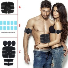 Hot SALE Smart Stimulator Training Abs Fitness Gear Muscle Abdominal Toning Belt Trainer Device DC88 For Health