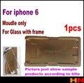 1 шт. для iphone 6 4.7 Ламинатор плесень Точности Алюминий только для покровного стекла с рамкой Место для оса пользователь