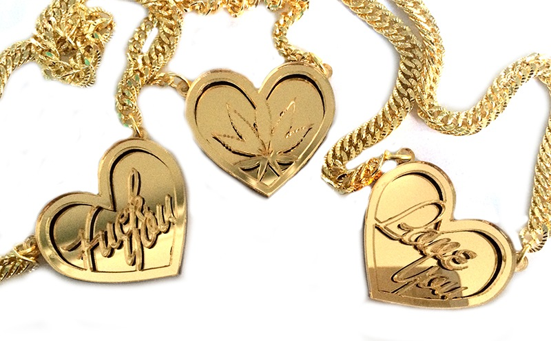 Buy gold personalised necklace and get free shipping on aliexpress aloadofball Image collections