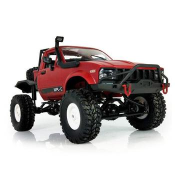 WPL C14 1:16 2CH 4WD Children RC Truck 2.4G Off-Road Car Electric 15km/H Top Speed RTR/KIT Mini Racing Toy