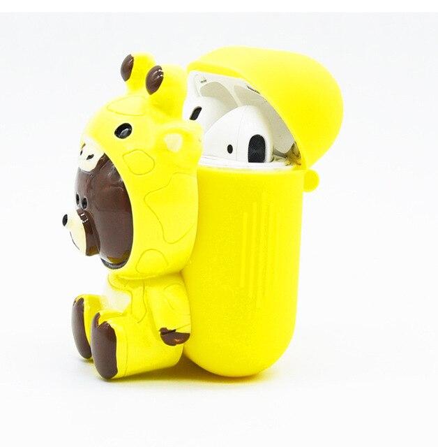 Cute Bear AirPod Case Cover 4