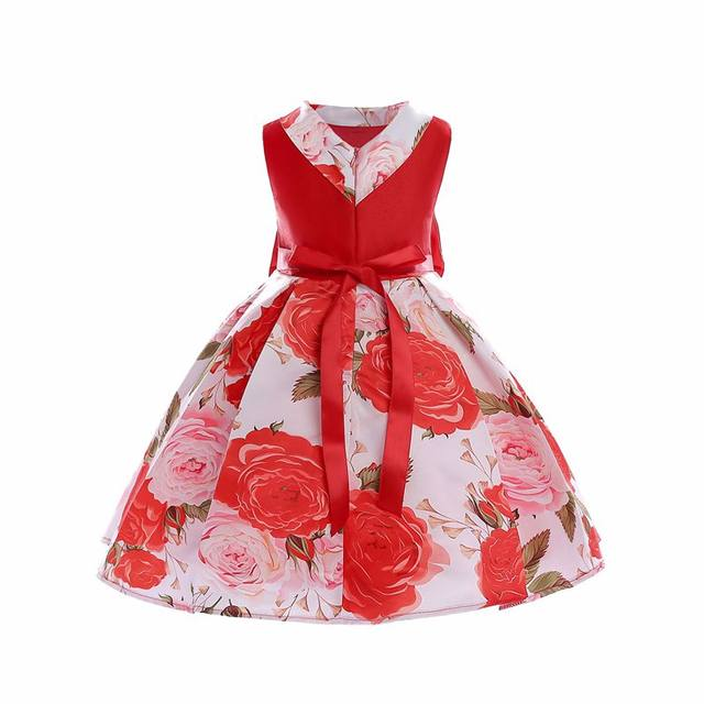 online shop kid s clothes girls print dress baby girl big butterfly