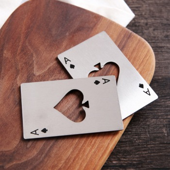 Poker Ace of Spades Beer Opener 1