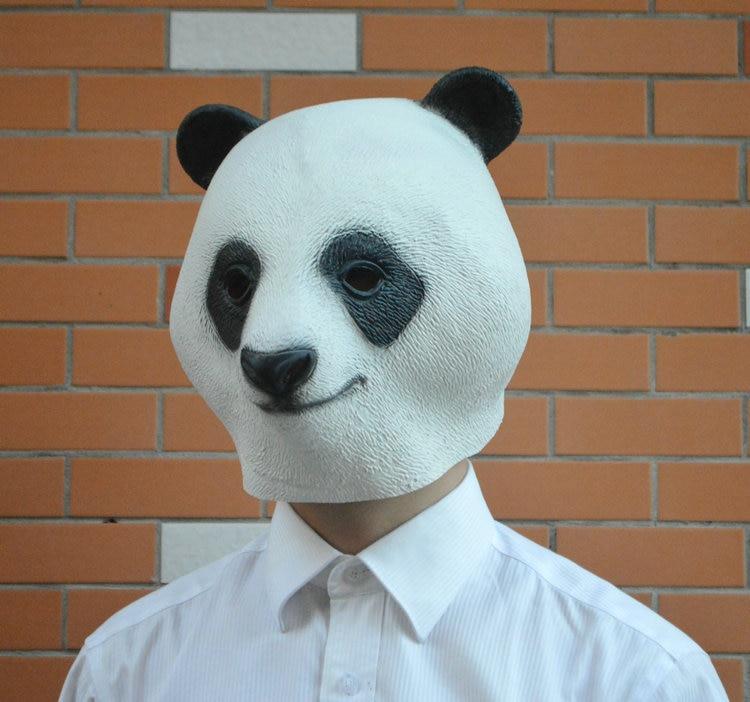 Životinjska maska za glavu Panda kostim za rekvizite za - Za blagdane i zabave - Foto 2