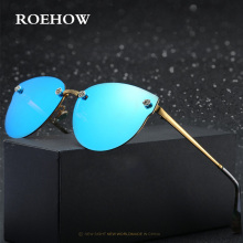 ROEHOW new Fashion Women Sunglasses Cat Eye Shades Luxury Brand Designer Sun glasses 5 Color UV400