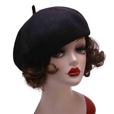 Lawliet Pure Wool Beret Hat...