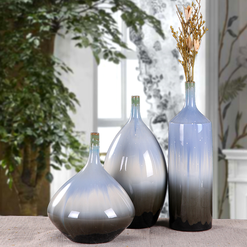 Simple Tv Cabinet Table A Piece Suit Decorative Ceramic Vase Home