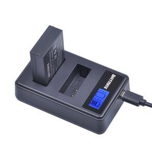 Image 5 - 2個1800mah LP E12 LPE12 lp E12カメラバッテリーakku + 液晶usb充電器キヤノンm 100Dキスx7反乱SL1 eos M10 eos M50デジタル一眼レフ