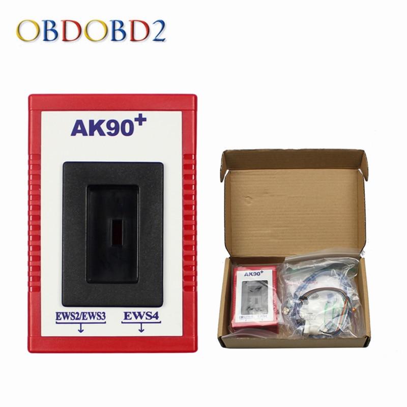 Newest AK90 For BMW AK90+ Auto Key Programmer For BMW EWS From 1995-2009 V3.19 AK90 Key Programmer Free Shipping