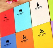 1 Pcs/lot 8 Warna Baru Vintage Candy Warna Seri Saku Notebook Mini Buku Harian Hadiah Fashion(China)