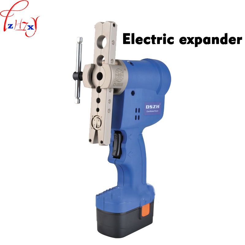 WK-E806AM-L Electric Flaring Tool Brass Flared Mouth Expander 6-19mm Rechargeable Electric Expander Tool Set+Plastic Box 1PC