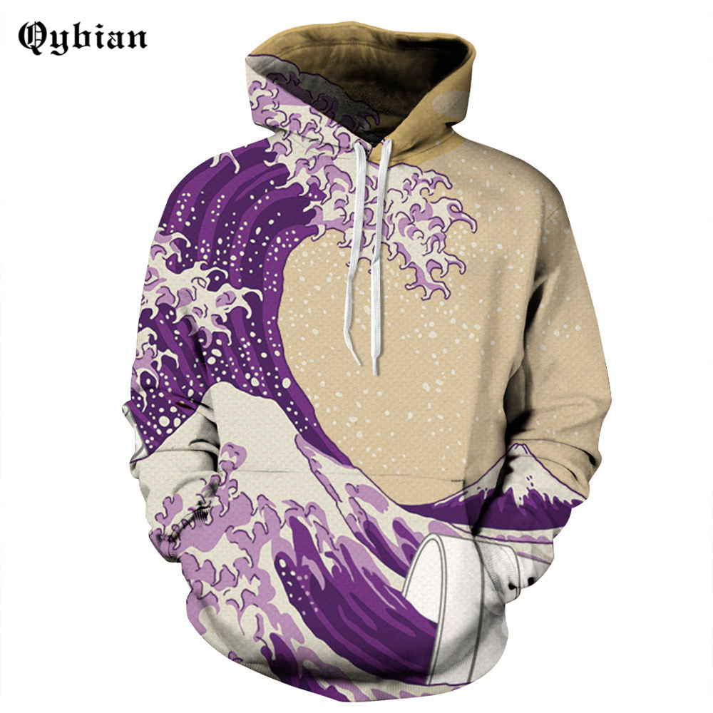 HOT! 2016 autumn hoodie men fashion Shennai paintings printing sweatshirts brand orignal design casual pullover for Couple