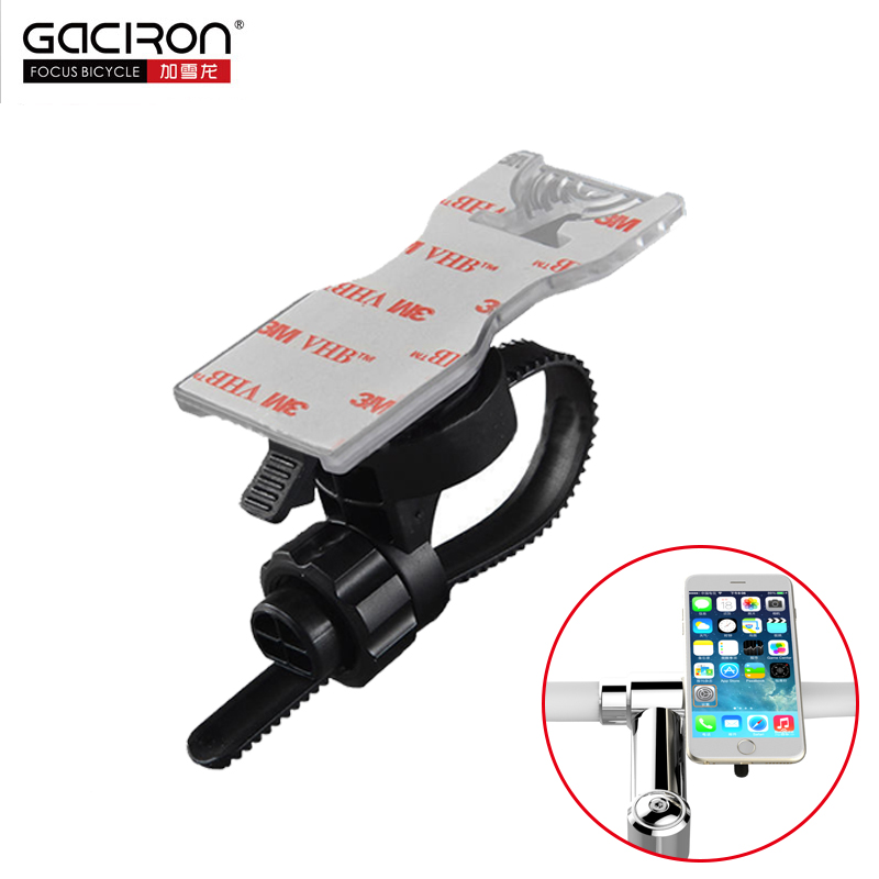 Gaciron Universal Phone Holder Bicycle Motorcycle Handlebar And Stem Mobile Phone Holder Rotatable MTB Road Bike Accessories H03 image