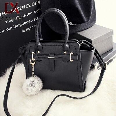 Xianjian Heißer Verkauf Dame Handtasche Birking berühmte designer qualität einkaufstasche mit fellknäuel...