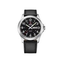 Наручные часы Swiss Military SMP36040.15 мужские кварцевые на кожаном ремешке