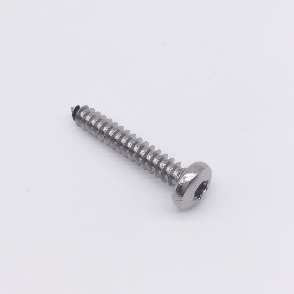 ST4.8 Security Torx Screw Self Tapping Screw Pan Head Stainless Steel T25 10pcs m6 16mm m6 16mm 316 ss stainless steel mushroom head sttp screw self tapping screw truss phil screws