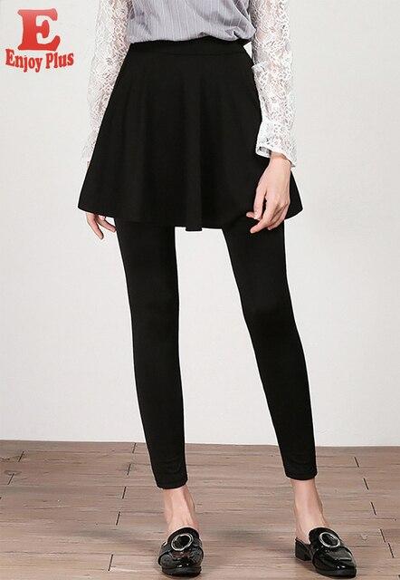 L XL XXL 3XL 4XL 5XL plus size casual new autumn winter 2018 women skirt long skinny legging large size black fitness pant lady