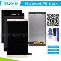 Para huawei p8max p8 max dav-713 703 lcd de pantalla táctil con la asamblea del reemplazo de cristal digitalizador