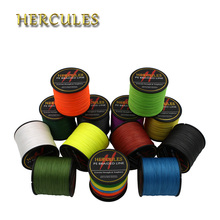 Hercules 4 Strands 300M PE Braided Fishing Line Sea Saltwater Carp Fishing Weave Superior Extreme Strong Fishing Accessories
