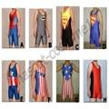 8 цвет лайкры и зентаи борьба синглетного колготки / брюки костюм Sportwear костюм S-XXXL