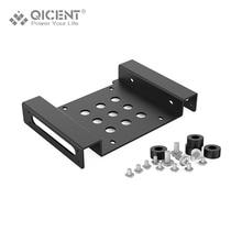 Qicent жесткий диск монтажный комплект-qicent 3.5 дюймов ssd hdd до 5.25 дюймов кронштейн конвертер-черный