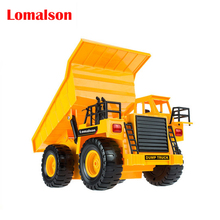 hot sale rc car 6 channel construction vehicles wireless remote control dump truck best friends for