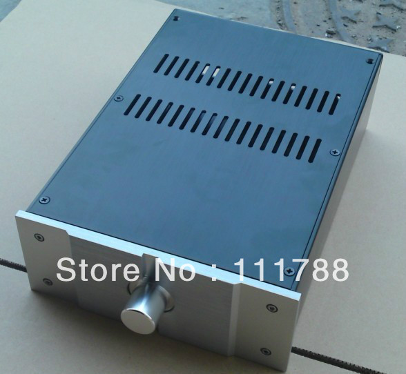 ФОТО Full aluminum power amp enclosure / case / chassis -small PASS version