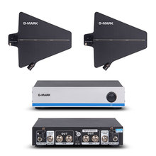 G MARK Draadloze Microfoon Antenne Signaal Versterker Distributeur 500 950Mhz Frequentie Voor Verlengen 400 Meter Door Uwp D11