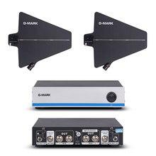 G MARK frequência sem fio do distribuidor 500 950mhz do amplificador do sinal da antena do microfone para estender 400 medidores por uwp d11