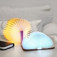 LED Night Book Light Table Lamp Mini USB Charging Foldable Portable for Home Bedroom LB88