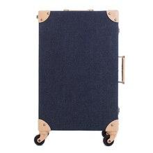 Персонализированные Багаж Чемодан Тележки для багажа женский небольшой свежий универсальный дорожная сумка колеса окно пароля 21, высокое качество