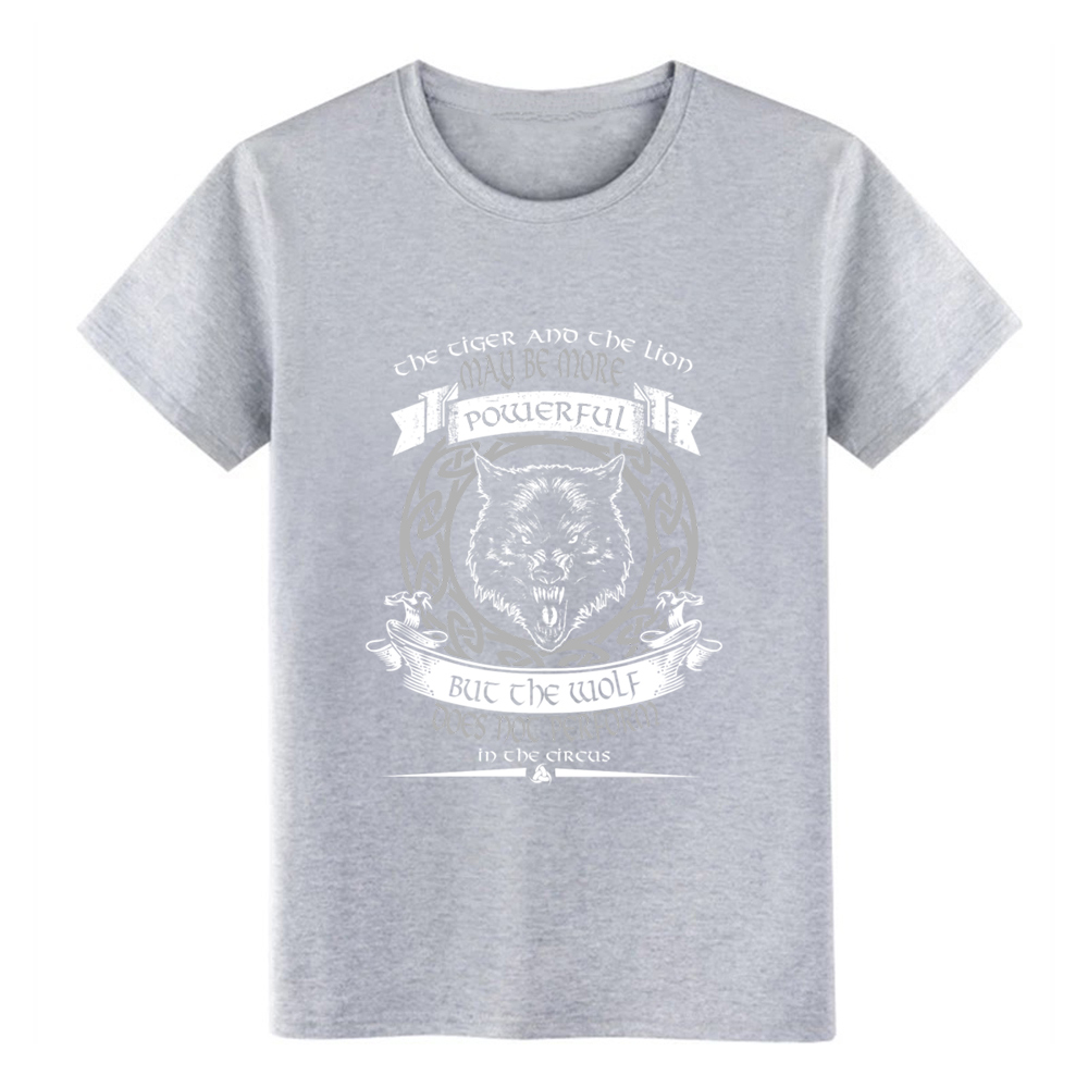 wolf of odin ne ver perform in the circus t shirt Designing Short Sleeve O Neck Family Loose Breathable summer Natural shirt in T Shirts from Men 39 s Clothing
