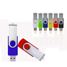 Pendrive Clássico 8 GB 32 GB Stick Usb 2.0 64 GB Flash Drive Mais Barato Pen Drive 128 GB de Metal Girar Disco Em Chave de 16G/4G usb stick
